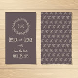 Save the Date Cards Royalty Free Stock Images