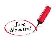 Save the date Stock Images