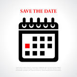 Save the date Royalty Free Stock Photo
