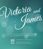 Save the date. Wedding invitation Stock Images