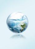 Save the earth from El Ni No. Stock Photo