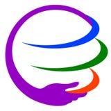 Save earth logo Royalty Free Stock Photos