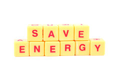 Save energy Stock Image