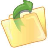 Save file icon Stock Photography