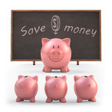 Save Money Stock Photography