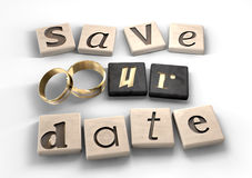 Save Our Date Royalty Free Stock Photos