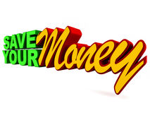 Save your money Royalty Free Stock Images