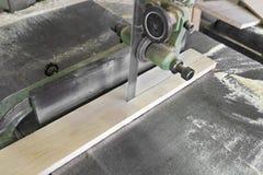 Βand saw piece of wood Stock Photography