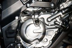 Schließen Sie herauf Maschinen-Motorradsport (großes Fahrrad) Lizenzfreie Stockfotos