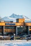 Schlumberger-Büro am Anchorage, Alaska Lizenzfreie Stockfotografie