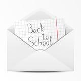 School envelope Stock Photos
