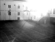 School yard Royalty Free Stock Image