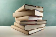 Schoolbooks Stock Image