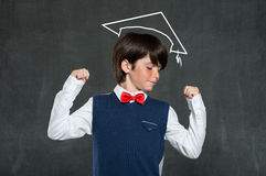 Schoolboy success Stock Photo