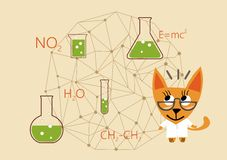 Science Day, day chemist Royalty Free Stock Images