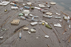Sea garbage Stock Photography