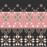 Seamless abstract pattern with geometric Royalty Free Stock Photo
