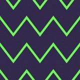 Seamless grunge textured zigzag pattern Royalty Free Stock Image