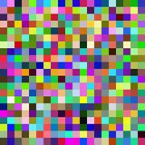 Seamless pattern with colorful squares. Vector Royalty Free Stock Photography