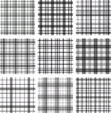 Seamless patterns. Set. Royalty Free Stock Images