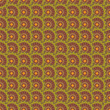 Seamless repeating floral pattern.Vector Royalty Free Stock Images