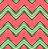 Seamless textured fashion zigzag pattern Stock Images
