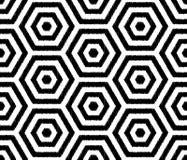 Seamless textured hexagon tiles wallpaper pattern Stock Photo