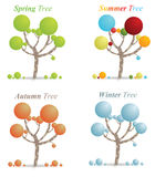 Season Tree's Stock Photo