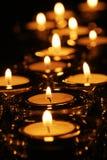 Seasonal candle light Royalty Free Stock Photos