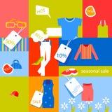 Seasonal sale Stock Images