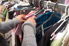 Second hand shop Royalty Free Stock Images