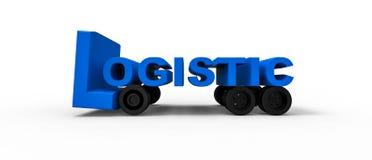 Segno logistico Immagine Stock Libera da Diritti