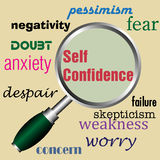 Self confidence Stock Photography