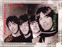 Sello con Beatles Fotos de archivo libres de regalías