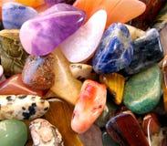 Semi precious gemstones Royalty Free Stock Photo