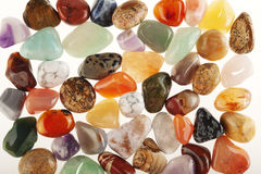Semi precious stones Royalty Free Stock Image