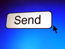 Send button Stock Image