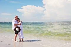 Senior couple romance Royalty Free Stock Images