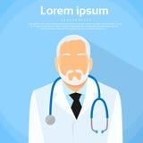 Senior Medical Doctor Profile Icon Male Portrait Royalty Free Stock Photos