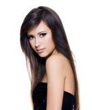Sensuality  beautiful  woman with long  hair Royalty Free Stock Photo