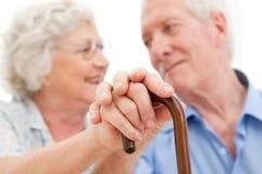 Serene senior couple Royalty Free Stock Photo