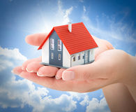 Serenity real estate concept Stock Photography