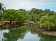 Serenity river in Vietnam Stock Images