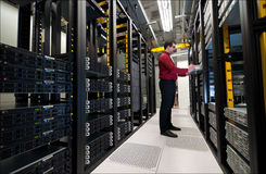 Server Expansion Royalty Free Stock Photography