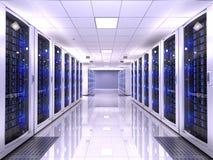 Server room Royalty Free Stock Photos