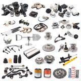 Set of auto parts Royalty Free Stock Photo