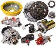 Set of auto parts Stock Photos