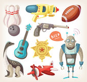 Set of toys for children Stock Photography