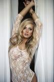 Sexy blonde woman Stock Photo