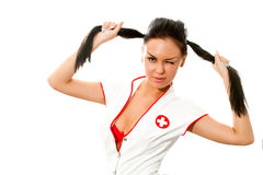 Sexy nurse Royalty Free Stock Images